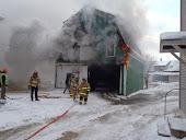 Town Garage Fire
