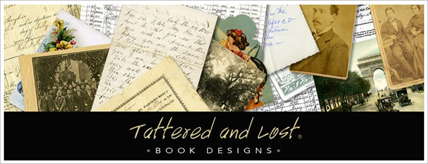 Tattered and Lost Book Designs