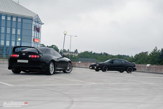 Toyota Supra MK4 & Toyota Celica T18, japoński sportowy samochód, coupe, piękny, kultowy