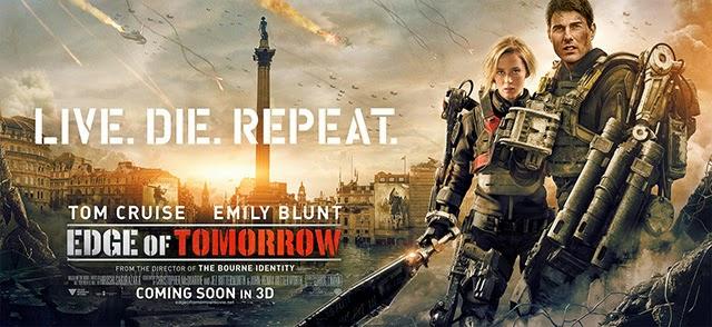 ดูหนังใหม่ Edge of Tomorrow - เอดจ์ ออฟ ทูมอร์โรว์ : ซูเปอร์นักรบดับทัพอสูร