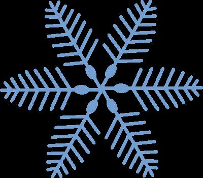 ... Box Of Vintage Stuff: Free Christmas Vector Clip Art - Blue Snowflakes