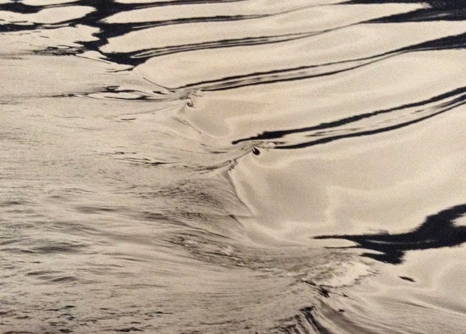 rippling water, Siegfried Lauterwasser