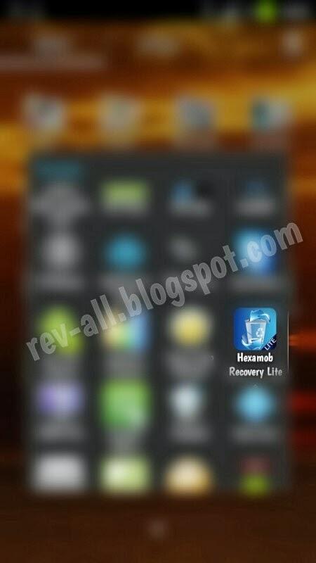 Ikon Hexamob Recovery Lite - aplikasi android untuk recovery data yang terhapus (rev-all.blogspot.com)
