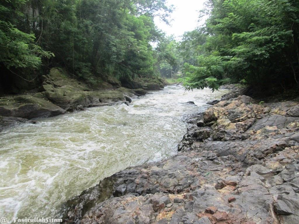 Aliran sungai di Lava Bantal, Berbah