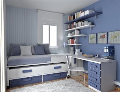 Erkek cocuk odasi1 Küçük Çocuk Odalarına Pratik Çözüm Mobilya Tasarımları