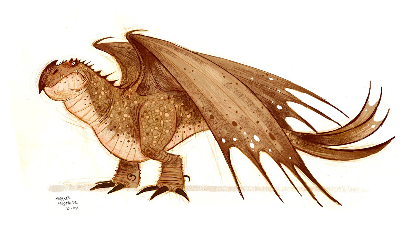 Character Design How To Train Your Dragon : Living lines library how to train your dragon