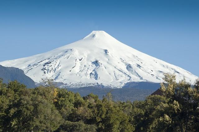Vulcão Villarica, no Chile