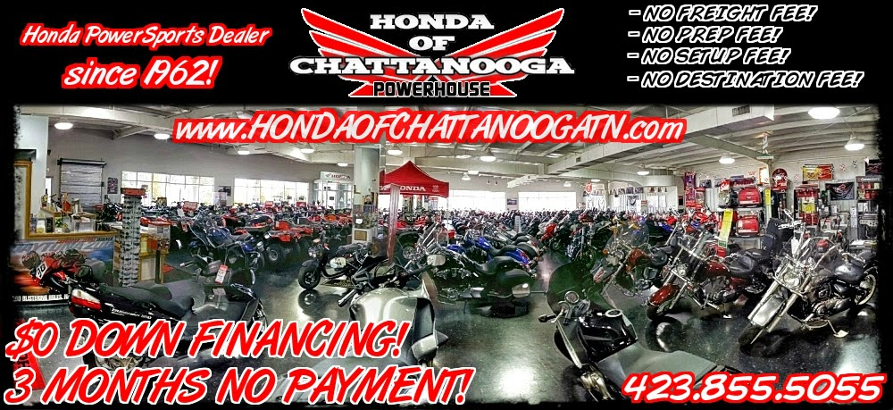 Honda Chattanooga Dealer Bikes Motorcycles PowerSports TN GA AL