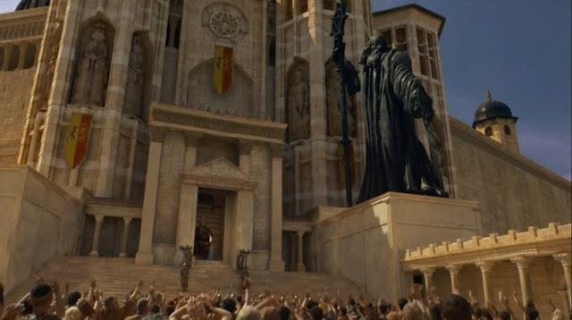 el gran septo de Baelor - Juego de Tronos en los siete reinos