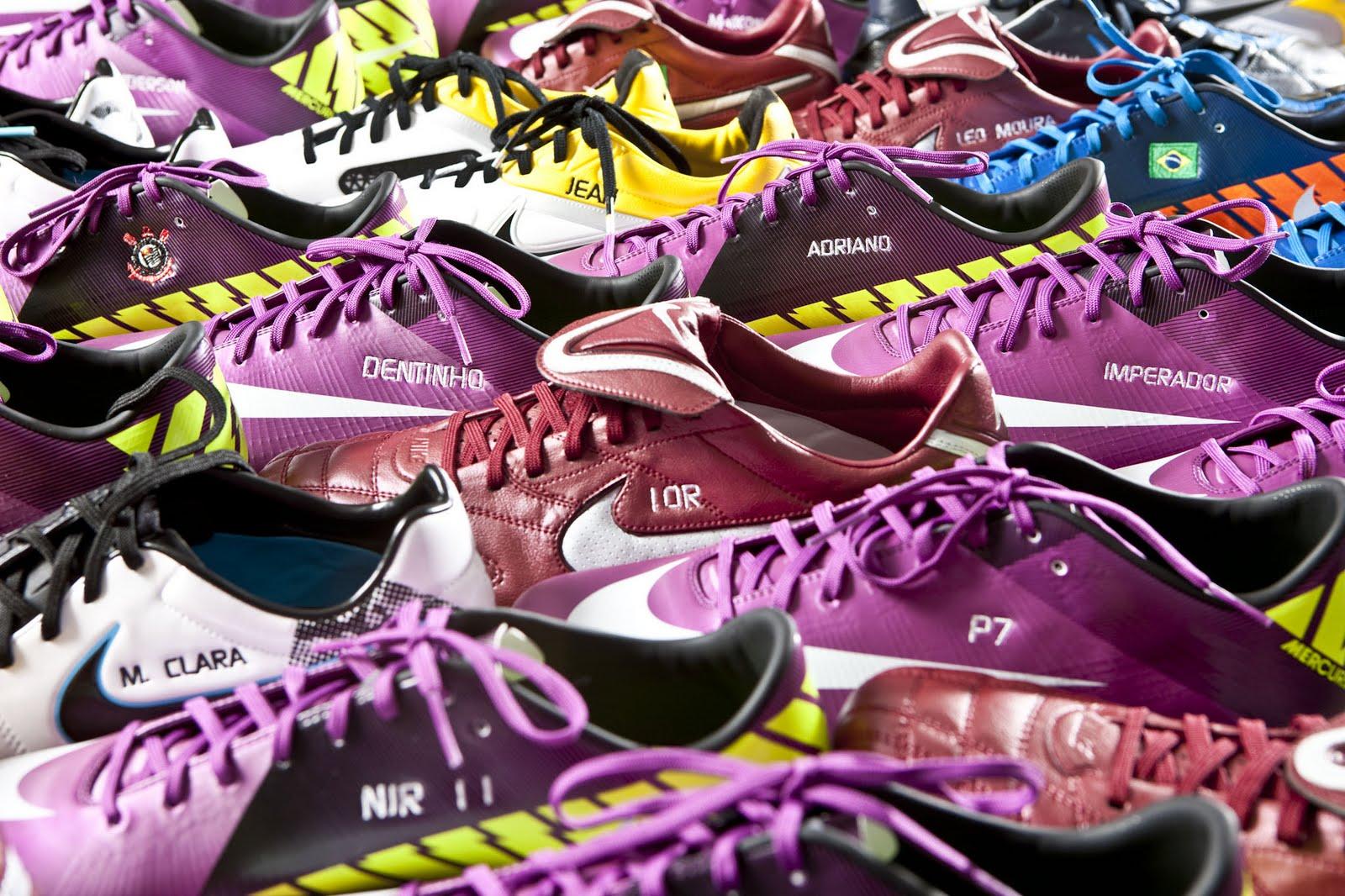 1da78d9216 WESPORTES.net  Chuteiras personalizadas são a nova moda no futebol
