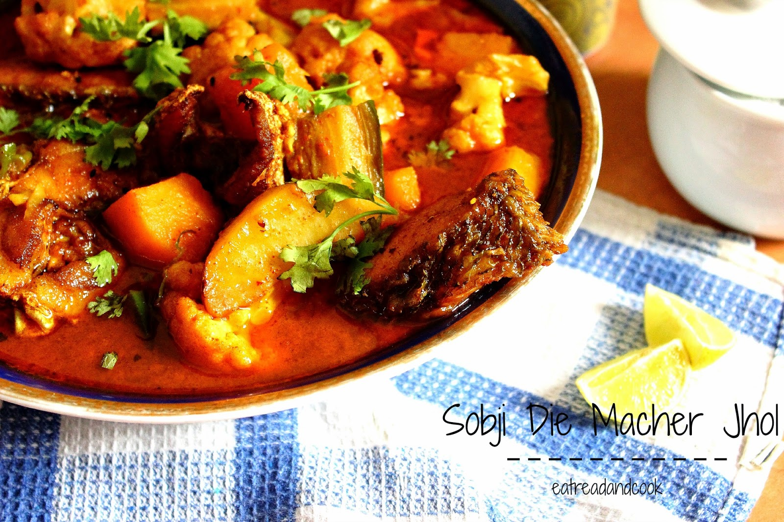 how to cook Sobji Die Macher Jhol