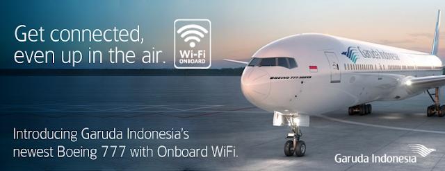Mau internetan gratis sambil terbang ke tempat tujuan Anda?
