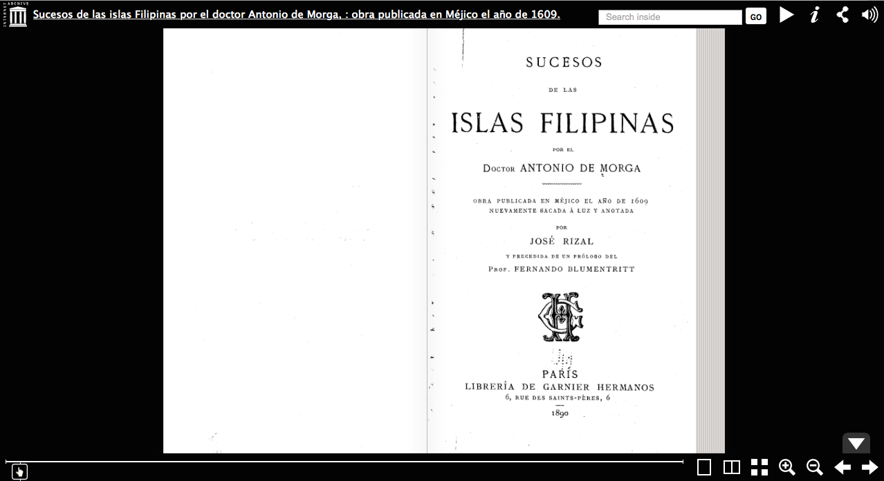 """pluma dr jose rizal ang dakilang manunulat In the spirit of rizal's annotations to dr antonio morga's """"events in the philippine islands,"""" dr floro quibuyen, author of a nation aborted: rizal, american hegemony, and philippine nationalism, gives his expert annotations to the pluma: rizal, ang dakilang manunulat, narrated by howie g severino."""