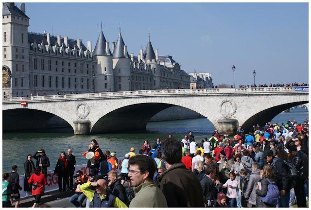 Maratón de París km26