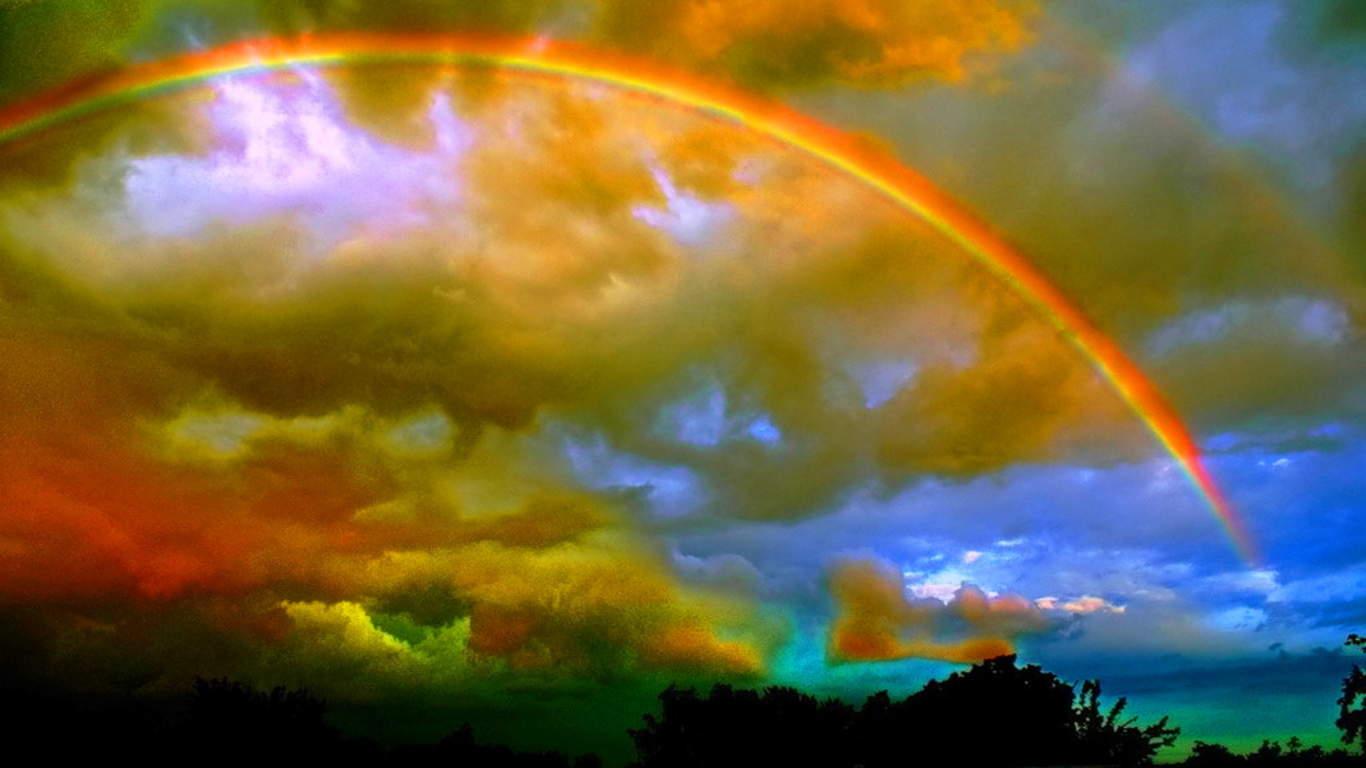 Rainbow wallpaper sunshine wallpaper - Nature ke wallpaper ...