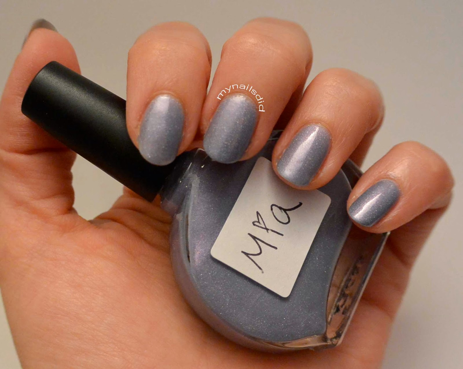 "My Nails Did: MTL swatches ""Mia"""