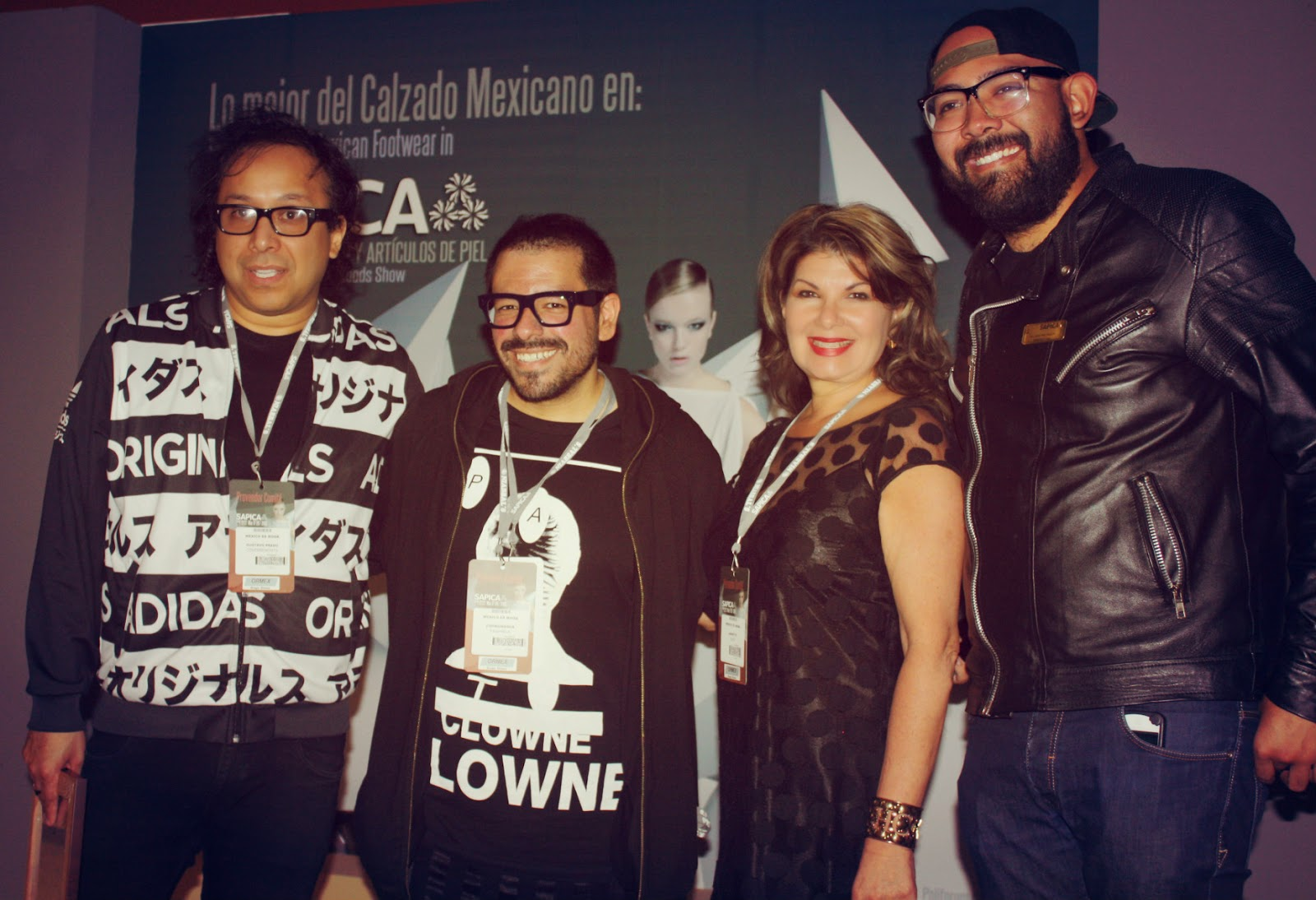 Cierre de conferencia Gustavo Prado, Francisco Saldaña, Jannette Klein y Javier Piña, SAPICA MEXICO.