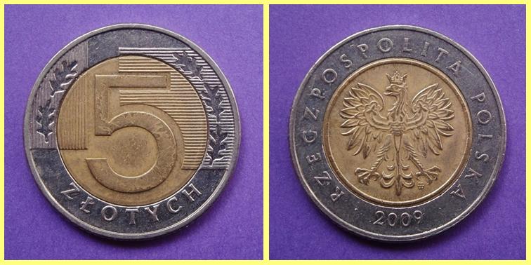 5 Zloty Polonia
