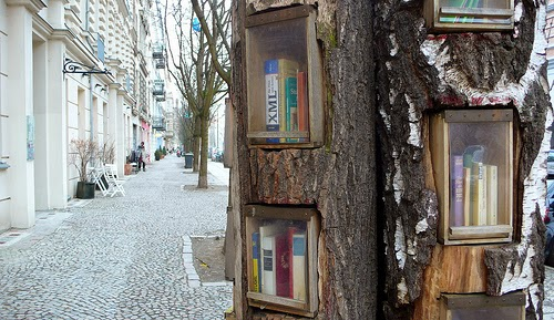 Book Forest - BookCrossing in Berlin
