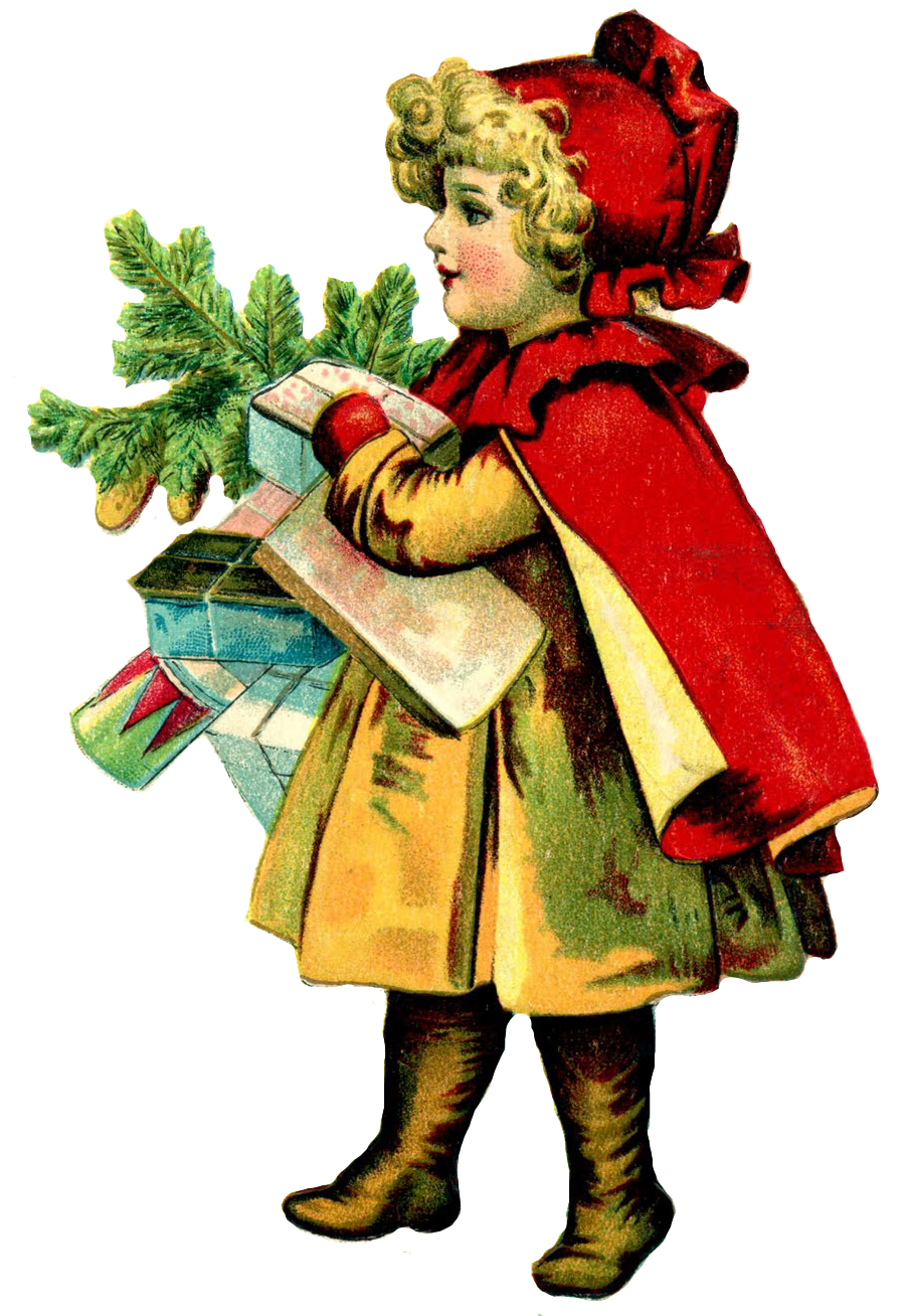 free victorian christmas clipart - photo #3