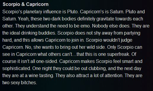 Scorpio girl and capricorn boy
