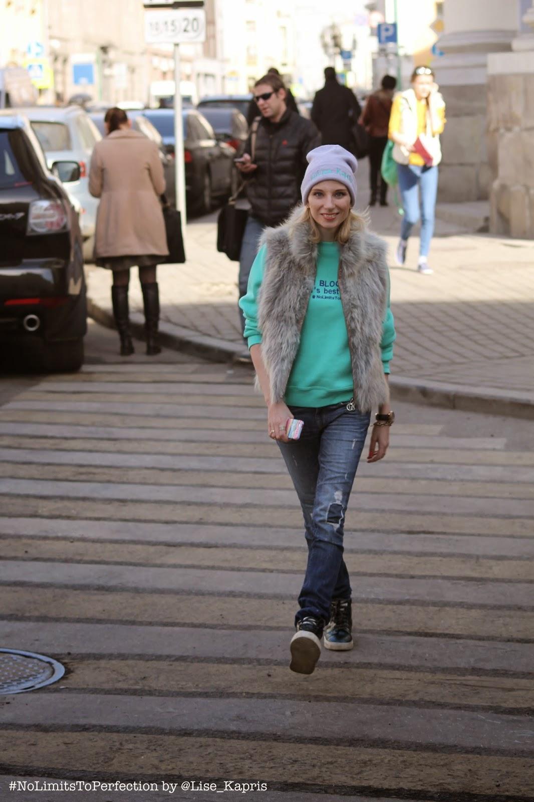Уличный стиль на Неделе моды в Москве 2015
