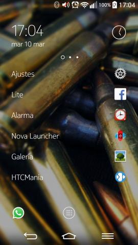 El Z launcher de Nokia.