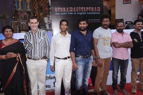 Subramaniapuram English Script Book Launch Event Photos