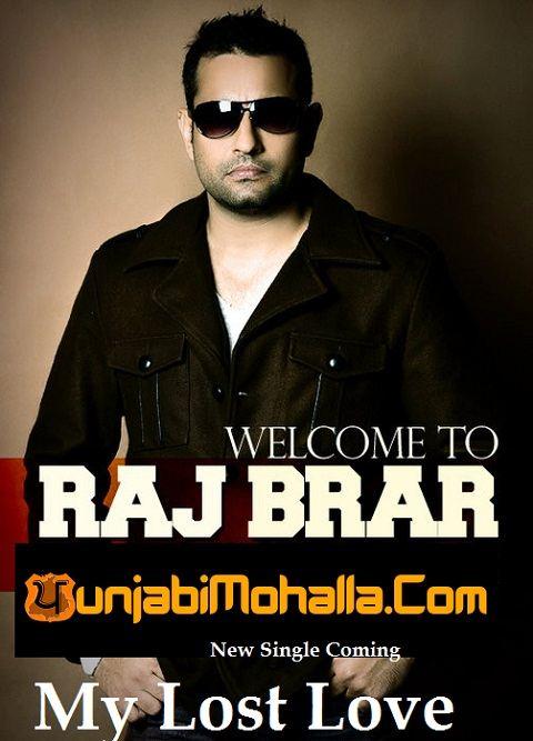 Raj Brar Coming With His Sad Song Album My Lost Love