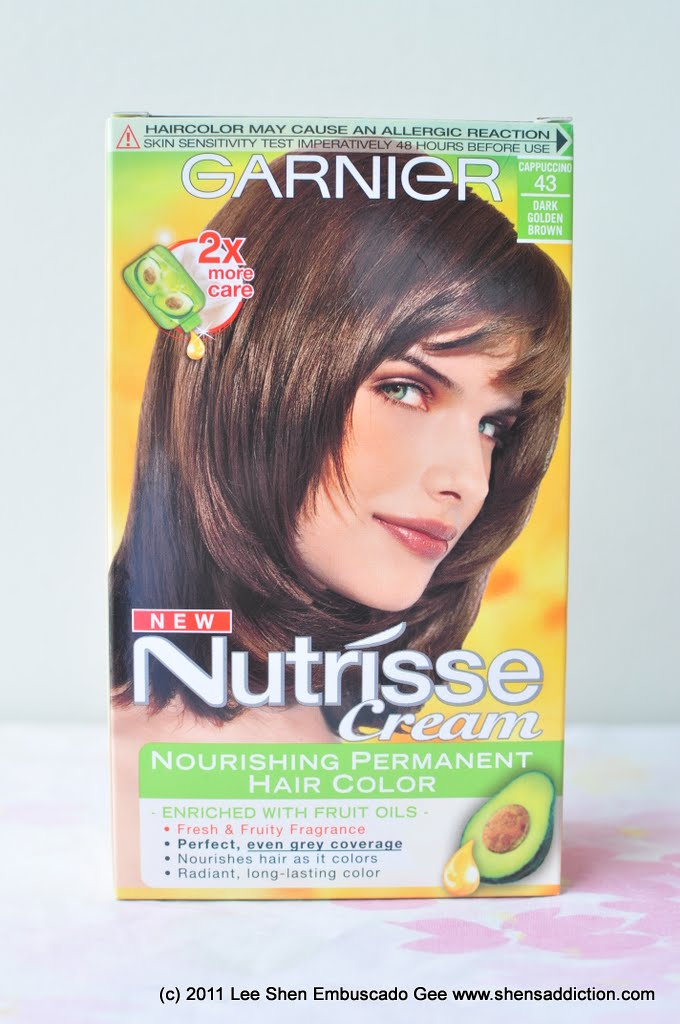 The Uncurated Life Trying Garnier Nutrisse Cream Nourishing