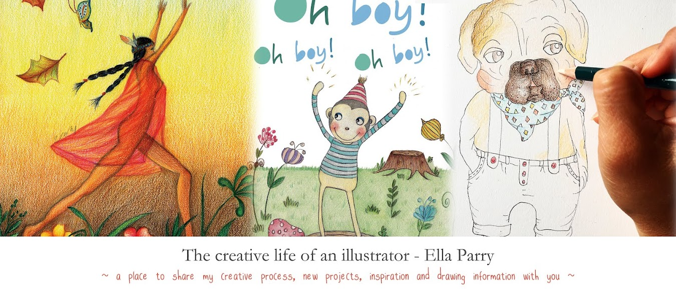 The creative life of an illustrator  - ella parry