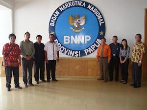 Balai Diklat BNN Bersama BNNP Memerangi Narkoba