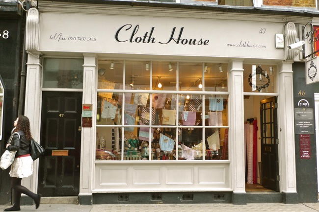 The cloth store