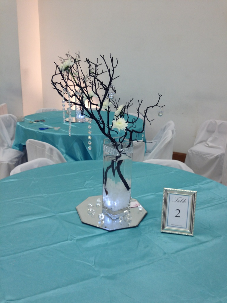 modern girl events tiffany themed baby shower