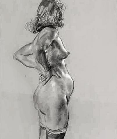 Nude Art Post