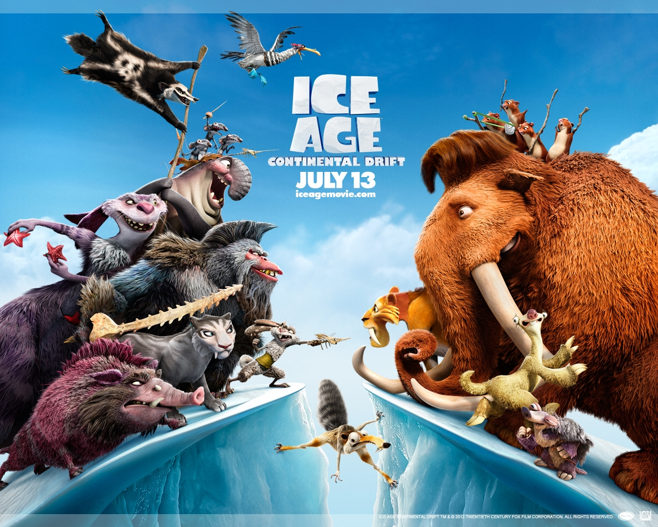 GSC Signature Gold Class & Ice Age 4: Continental Drift Movie Review ...