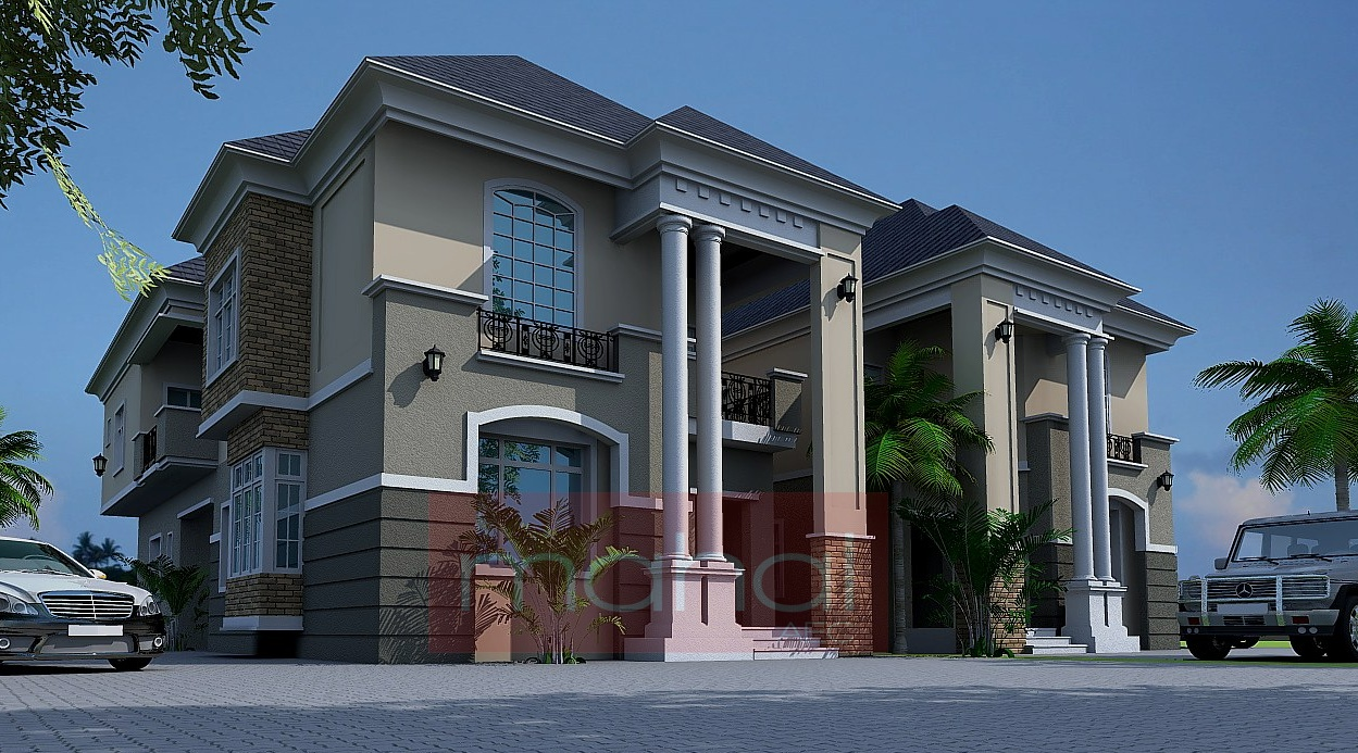 Image gallery nigerian architecture for Nigerian architectural designs