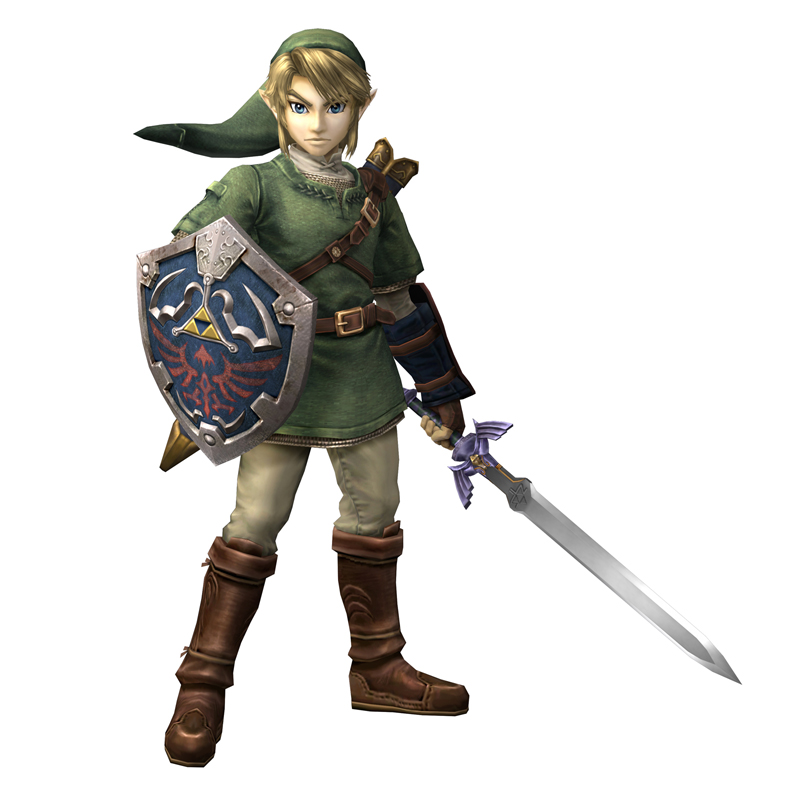 If I could be a game hero I choose to be Link