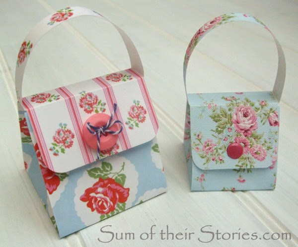 Paper craft handbag gift box