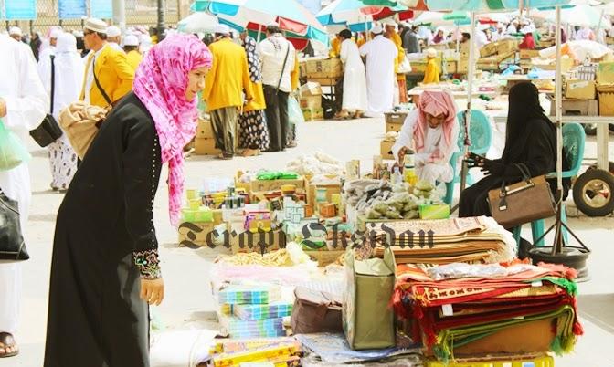 Ada Pasar Kaget di Tanah Suci