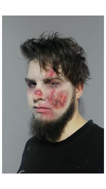Zombie boy / homemade fx