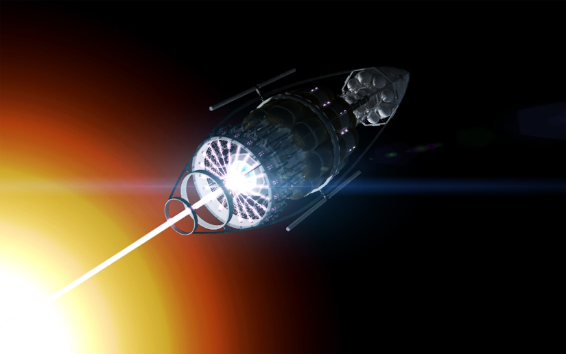 Nuclear thrusters for space ships?