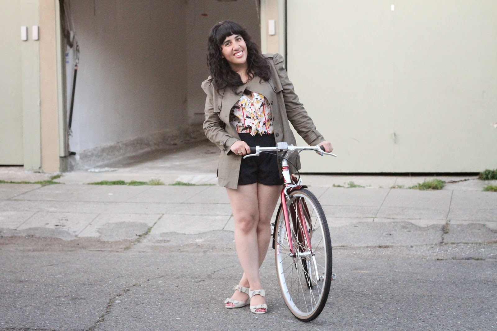 Cute Bicycle Outfit