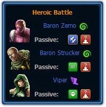 Captain America & Falcon VS Baron Zemo, Baron Strucker & Viper