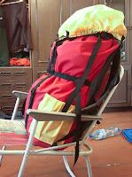 самодельный экспедиционный туристический рюкзак