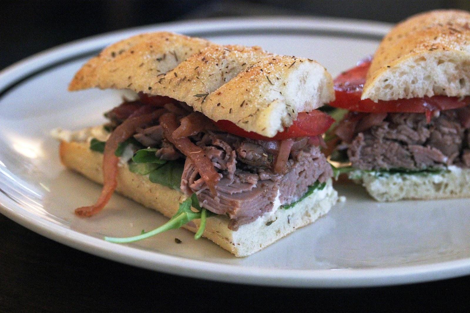 Tomato, Onion And Goat Cheese Sandwiches Recipes — Dishmaps