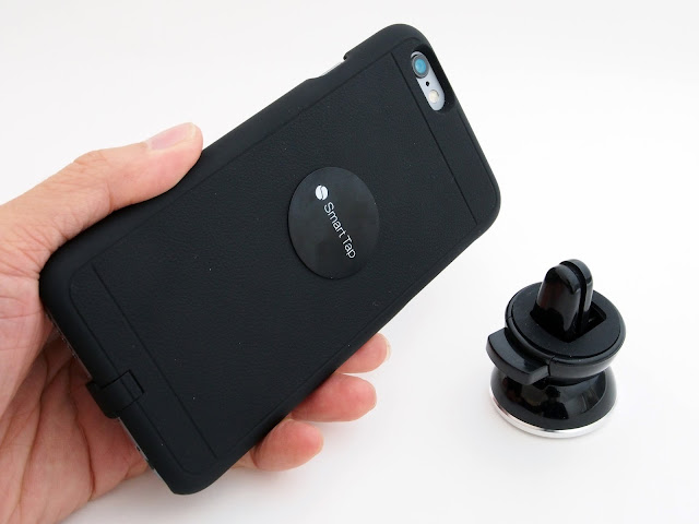 車載モバイルスタンドSmart Tapの2機種をレビュー。アームタイプの強力な粘着力に驚いた。
