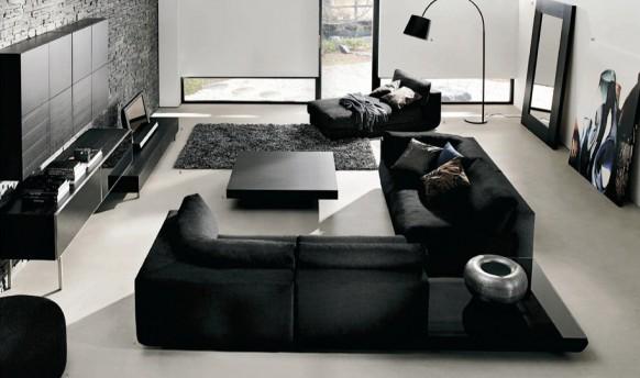 Salas en blanco y negro | Ideas para decorar, diseñar y mejorar tu casa.