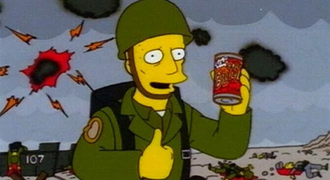 Buzz Cola - Los Simpsons