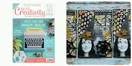 My work was published:       Creativity Magazine-Issue 65